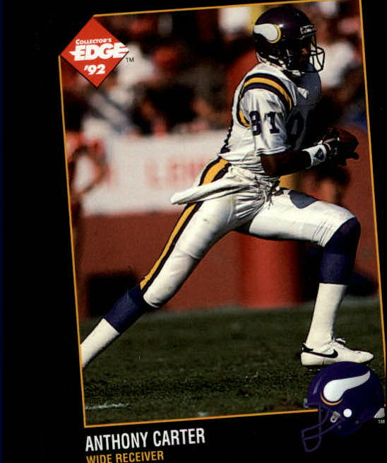 1992 Collector's Edge #97 Anthony Carter