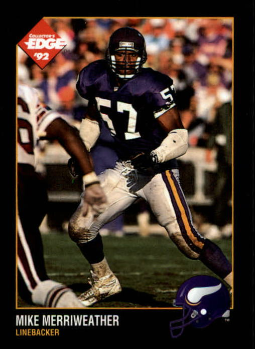 1992 Collector's Edge #101 Mike Merriweather