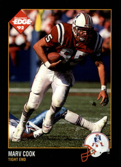 1992 Collector's Edge #105 Marv Cook