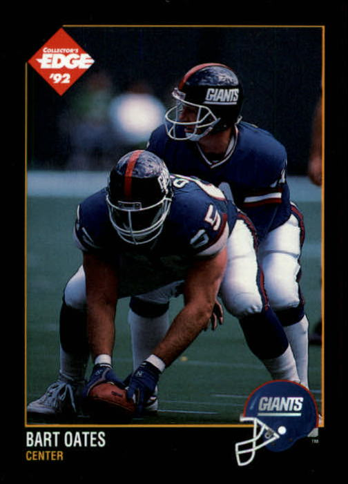 1992 Collector's Edge #119 Bart Oates