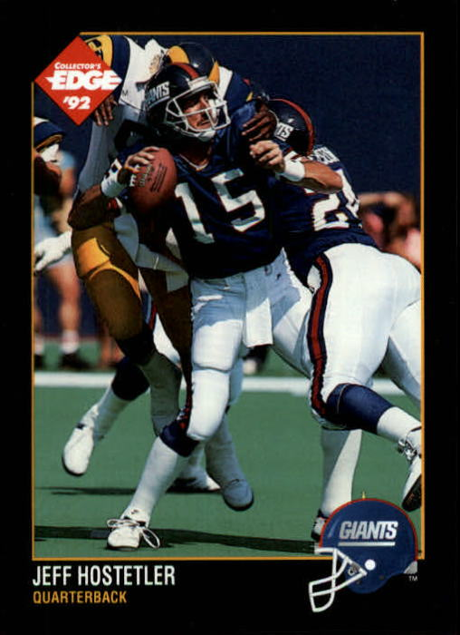 1992 Collector's Edge #121 Jeff Hostetler