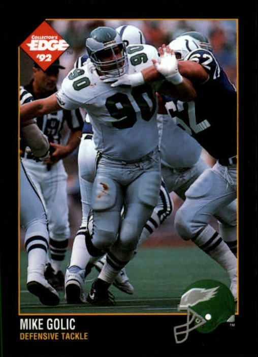 1992 Collector's Edge #130 Mike Golic