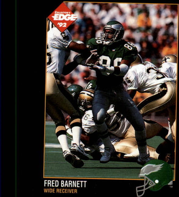 1992 Collector's Edge #131 Fred Barnett
