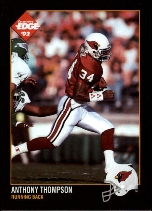 1992 Collector's Edge #139 Anthony Thompson