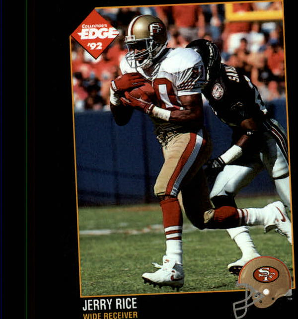 1992 Collector's Edge #156 Jerry Rice