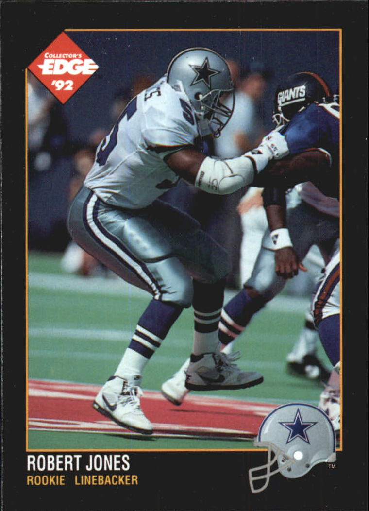 1992 Collector's Edge #178 Robert Jones RC