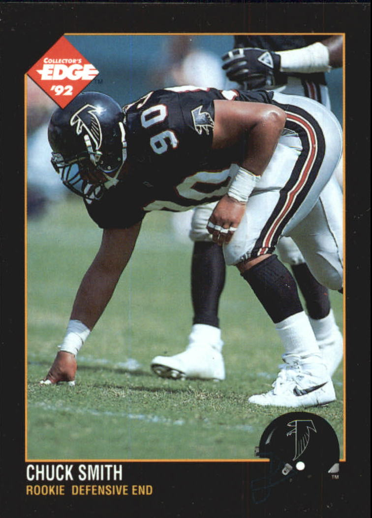 1992 Collector's Edge #193 Chuck Smith RC