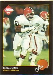 1992 Collector's Edge #196 Gerald Dixon RC