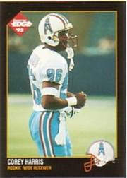 1992 Collector's Edge #200 Corey Harris RC