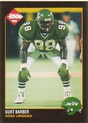 1992 Collector's Edge #207 Kurt Barber RC