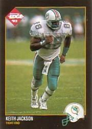 1992 Collector's Edge #221 Keith Jackson