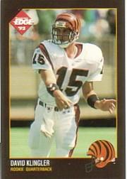 1992 Collector's Edge #225 David Klingler RC
