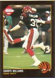 1992 Collector's Edge #226 Darryl Williams RC