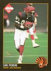 1992 Collector's Edge #227 Carl Pickens RC