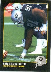 1992 Collector's Edge #229 Chester McGlockton RC