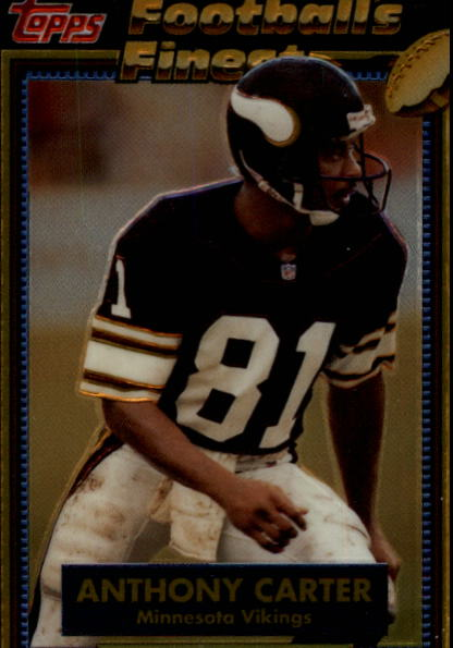1992 Finest #4 Anthony Carter