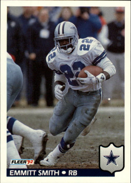 1992 Fleer #89 Emmitt Smith