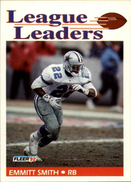 1992 Fleer #453 Emmitt Smith LL