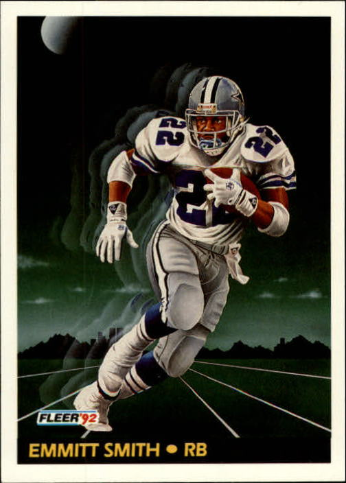 1992 Fleer #475 Emmitt Smith PV