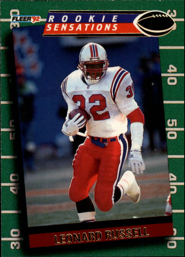 1992 Fleer Rookie Sensations #15 Leonard Russell