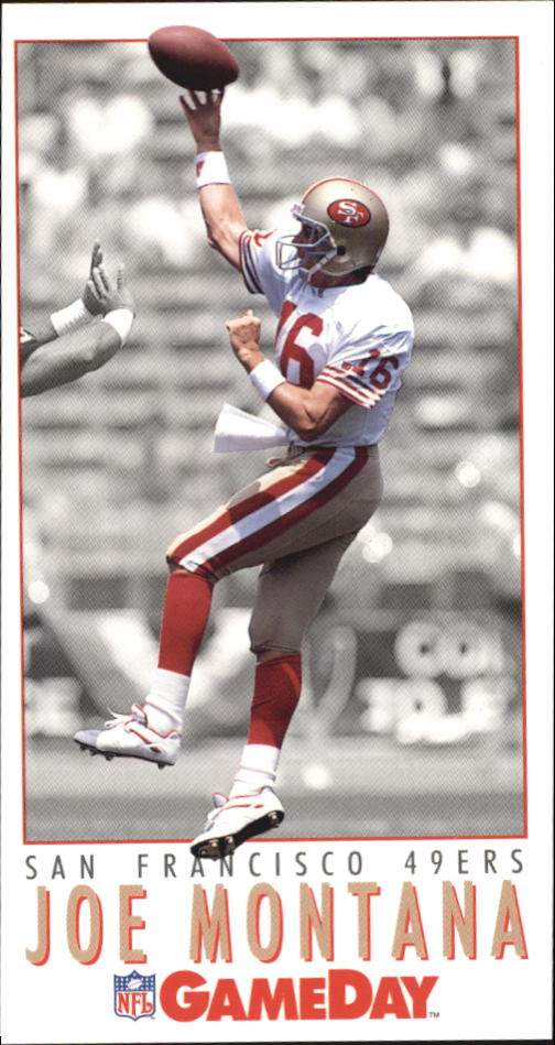 1992 GameDay #5 Joe Montana