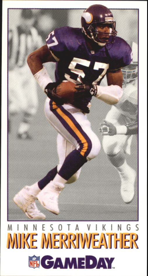 1992 GameDay #57 Mike Merriweather