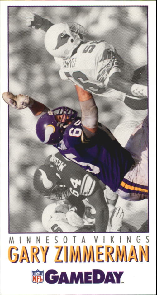 1992 GameDay #136 Gary Zimmerman