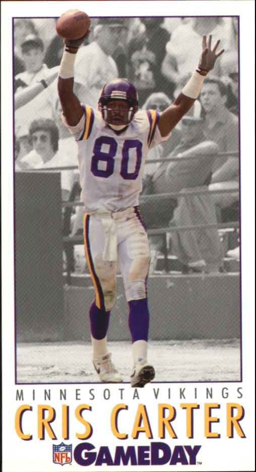 1992 GameDay #142 Cris Carter