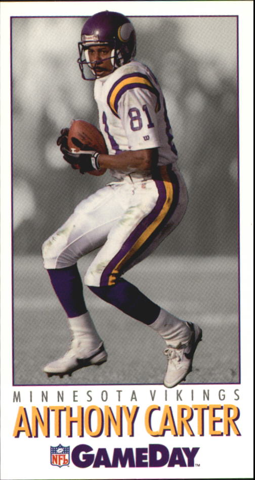 1992 GameDay #143 Anthony Carter