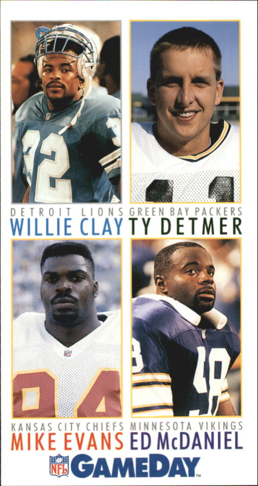 1992 GameDay #188 Detmer/Clay/McDan/Ev.
