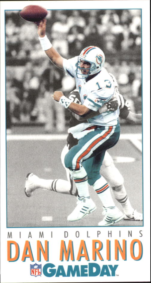 1992 GameDay #254 Dan Marino