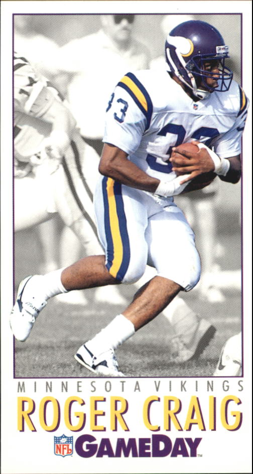 1992 GameDay #293 Roger Craig