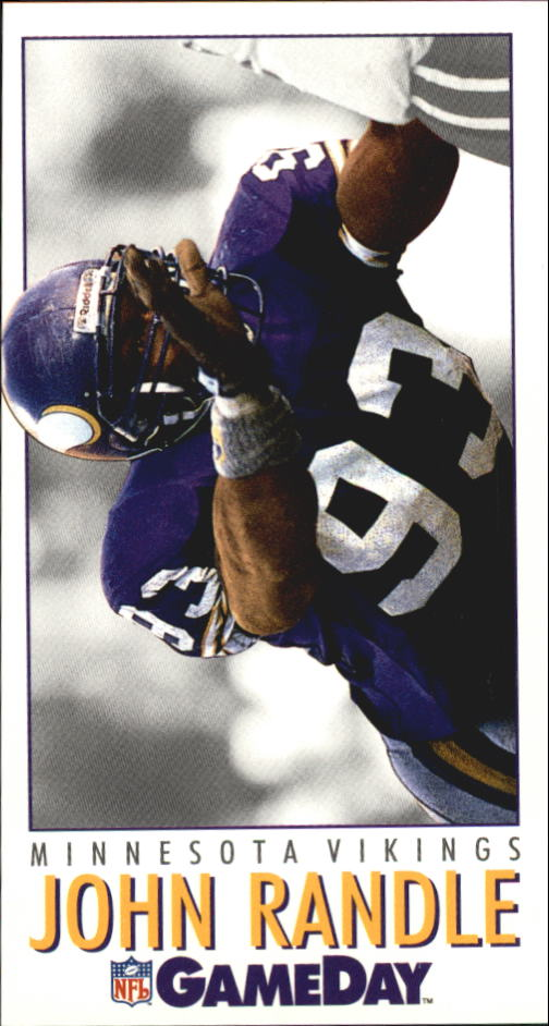 1992 GameDay #420 John Randle
