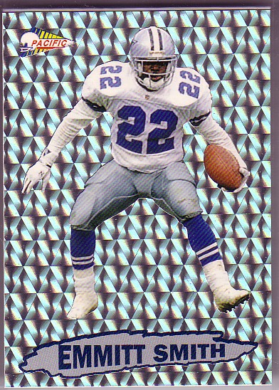 1992 Pacific Prism Inserts #6 Emmitt Smith
