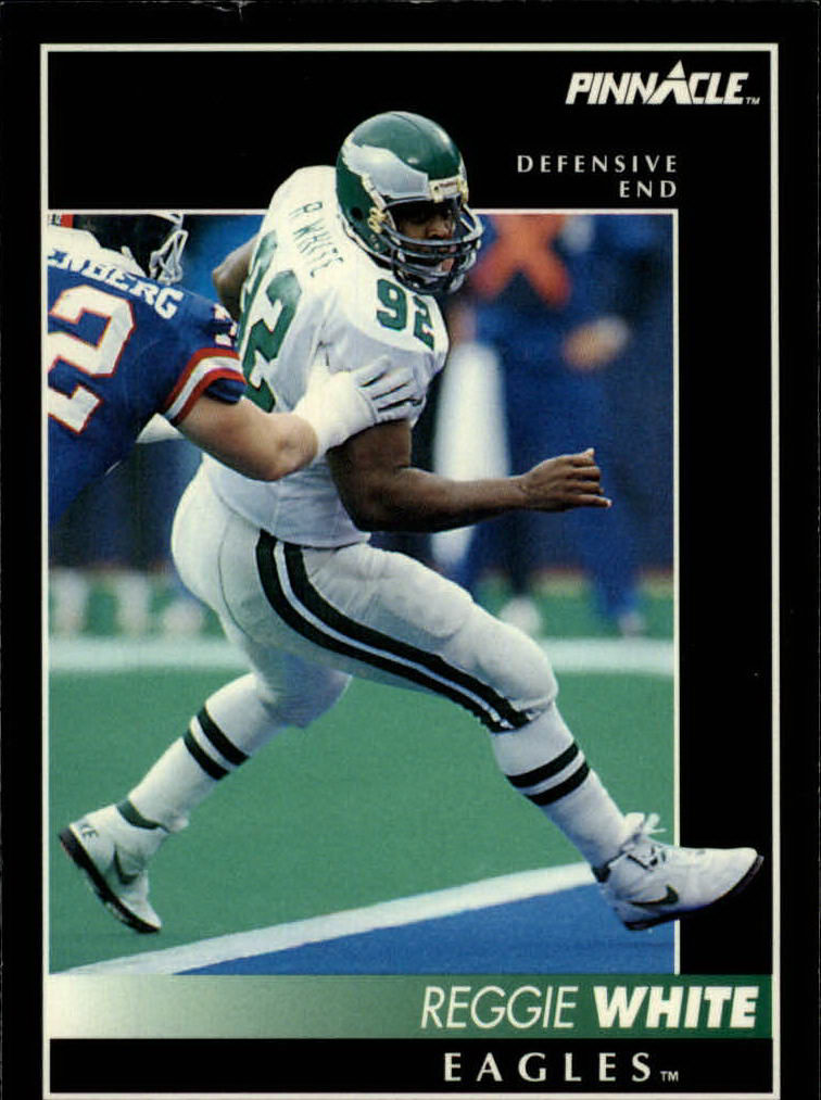 1992 Pinnacle #1 Reggie White