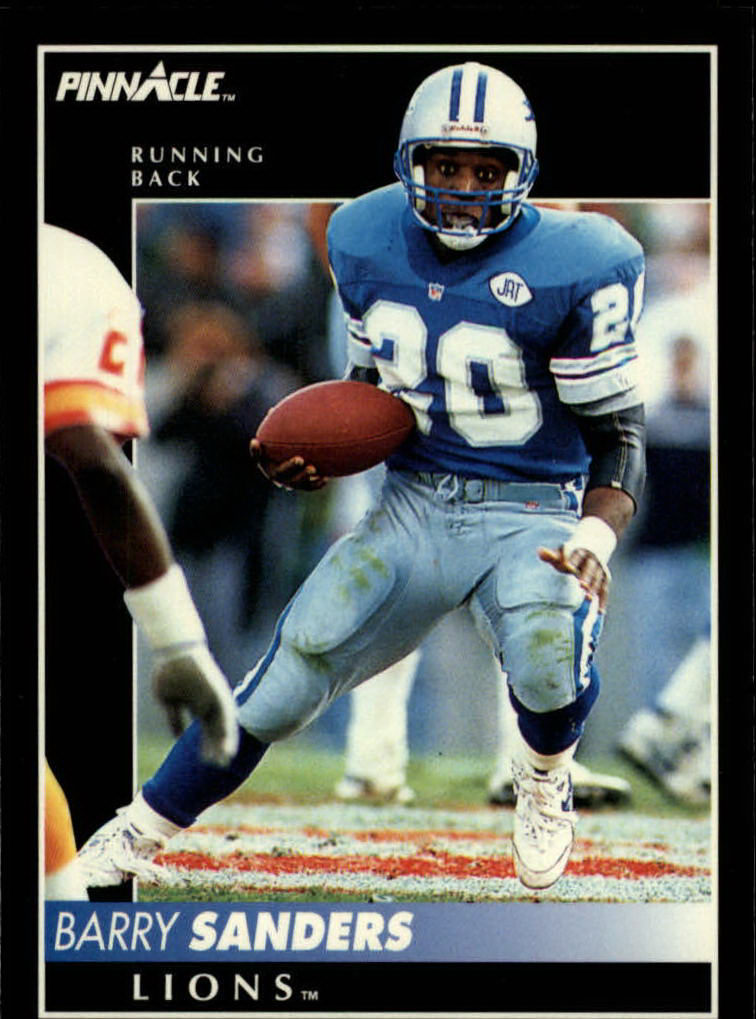 1992 Pinnacle #15 Barry Sanders