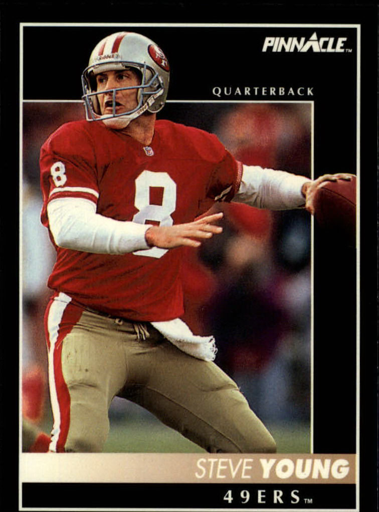 1992 Pinnacle #18 Steve Young