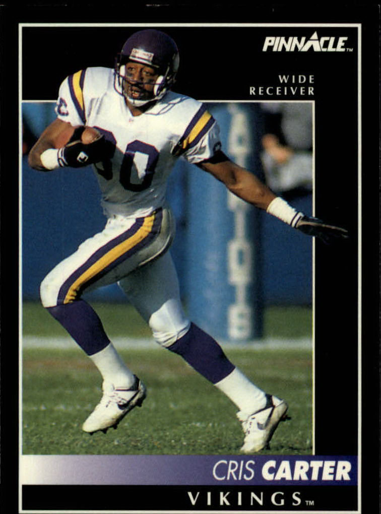 1992 Pinnacle #29 Cris Carter