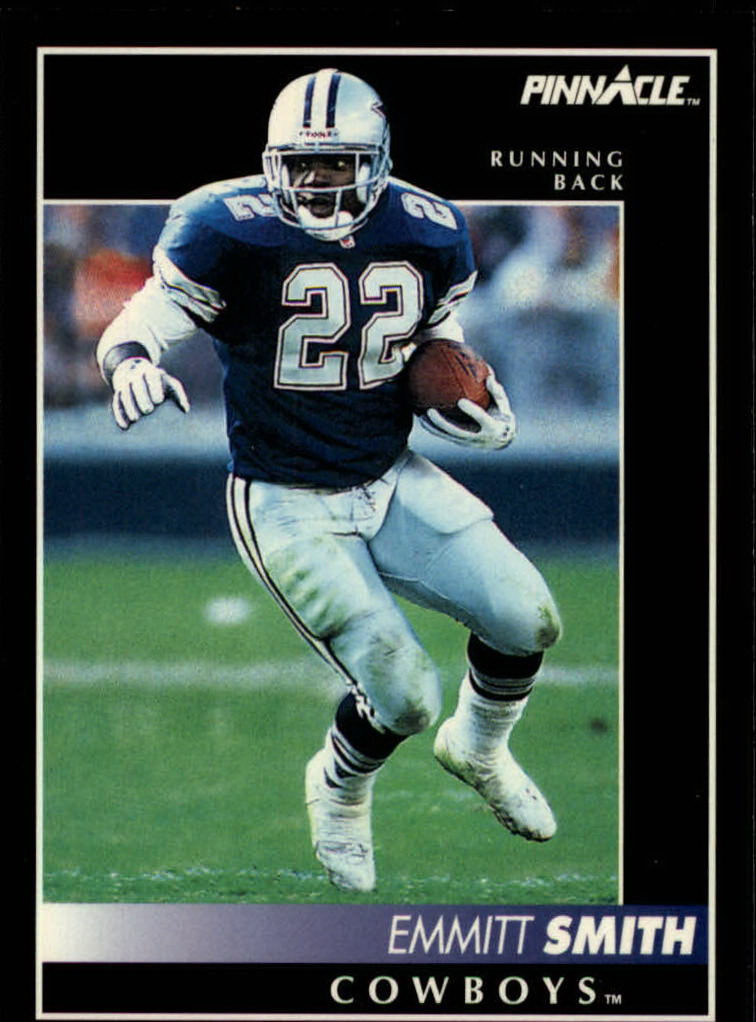 1992 Pinnacle #58 Emmitt Smith