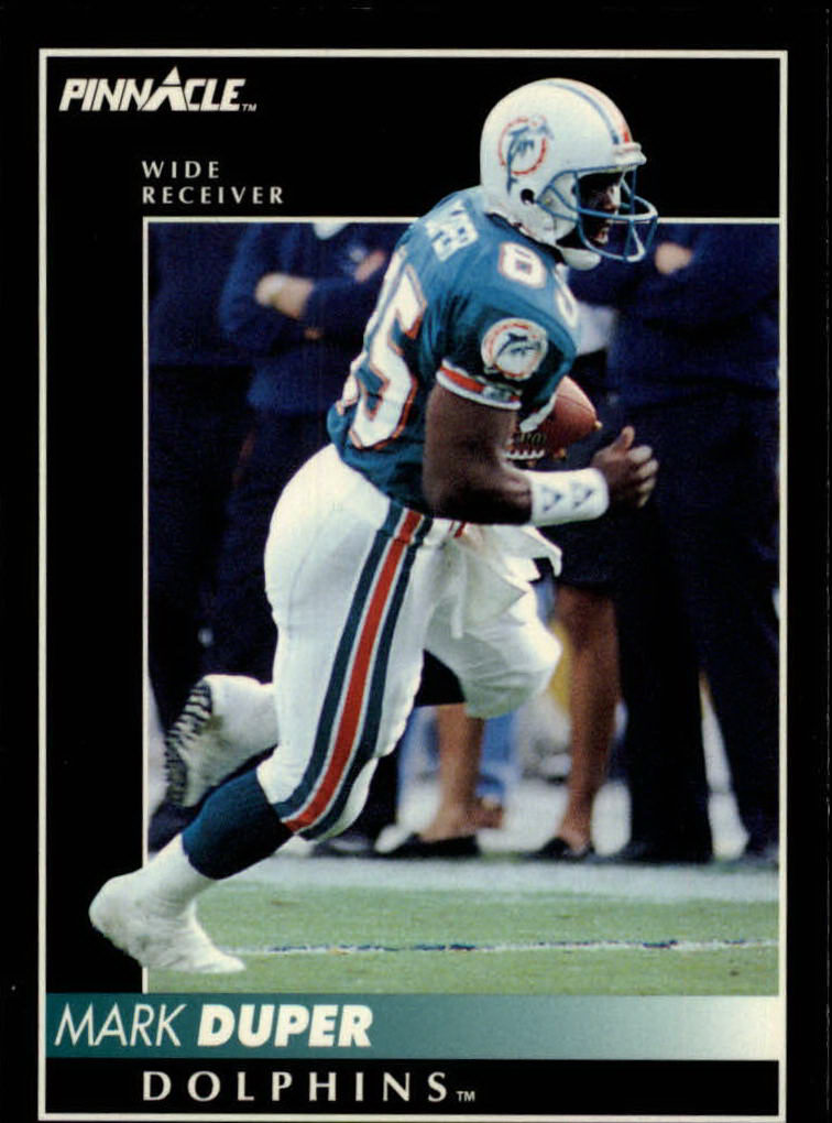 1992 Pinnacle #68 Mark Duper