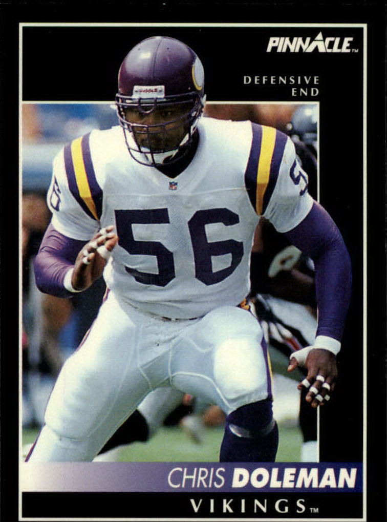 1992 Pinnacle #98 Chris Doleman