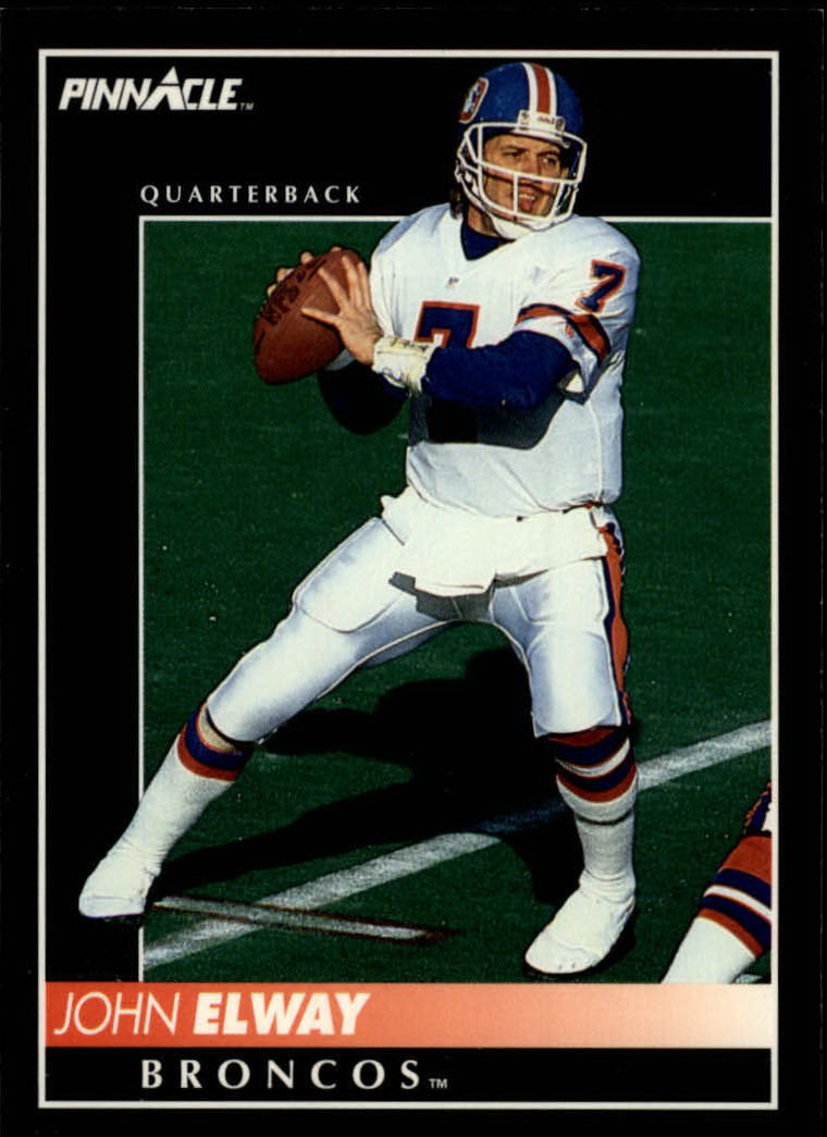 1992 Pinnacle #212 John Elway