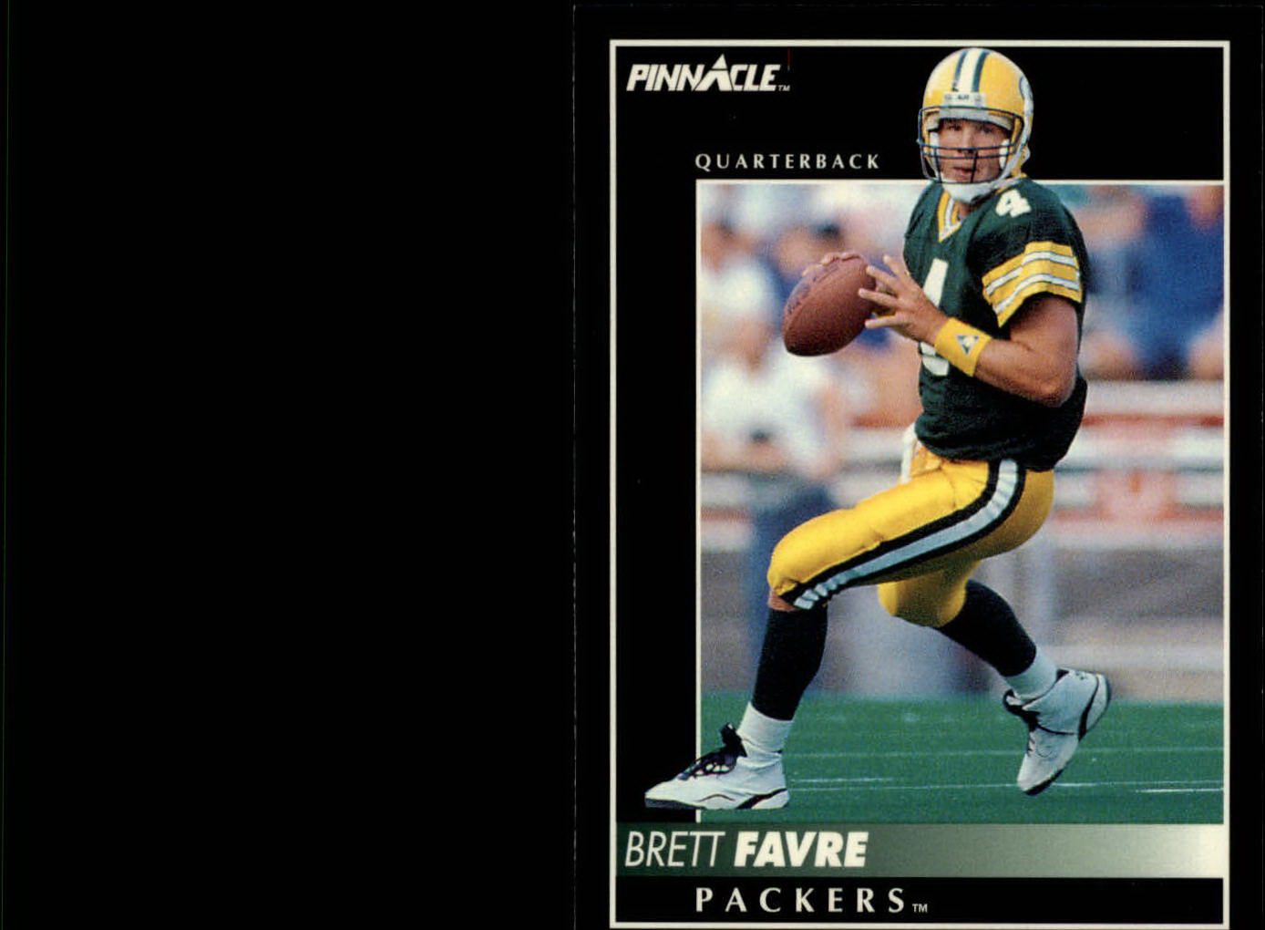 1992 Pinnacle #303 Brett Favre