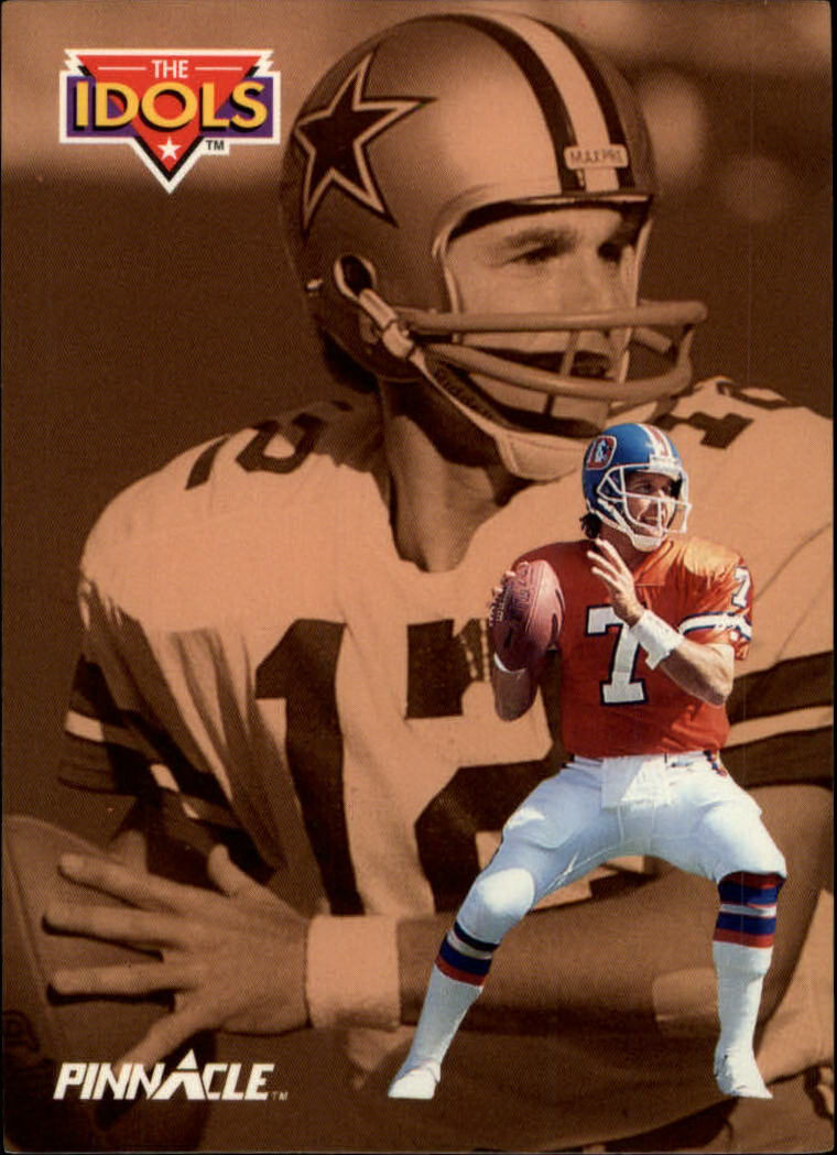 1992 Pinnacle #353 John Elway/Staubach ID