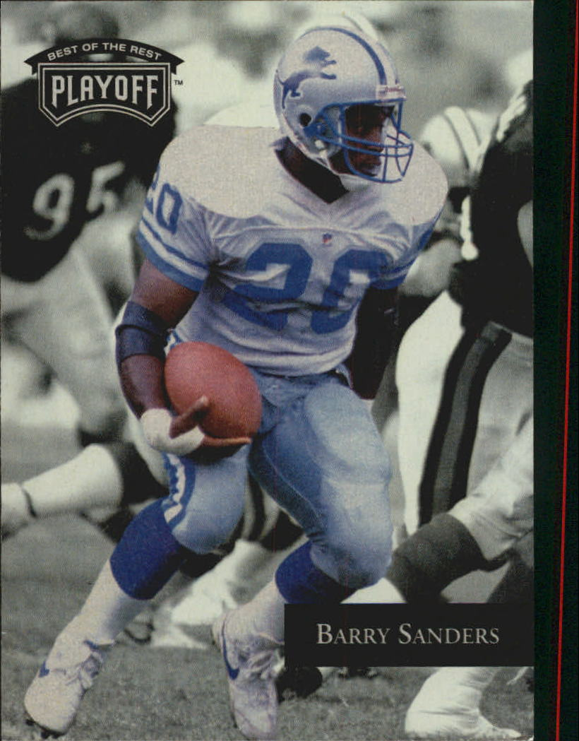 1992 Playoff #138 Barry Sanders