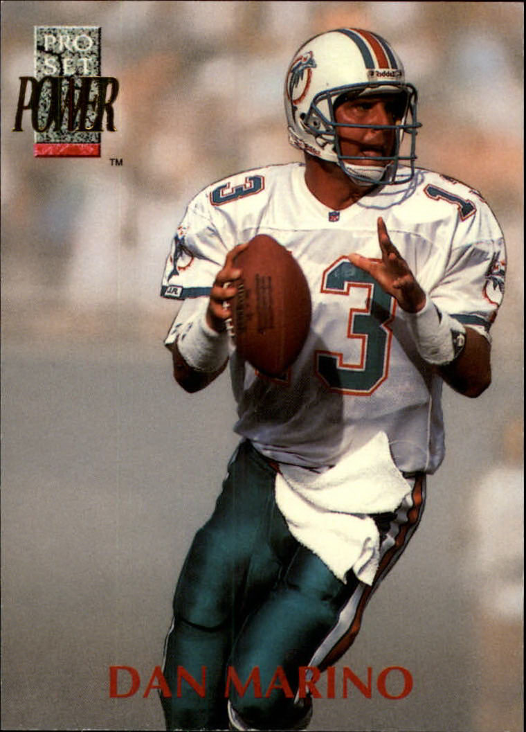 1992 Power #13 Dan Marino