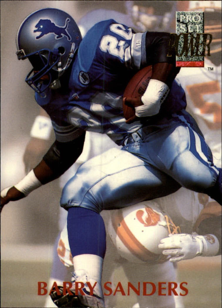 1992 Power #20 Barry Sanders