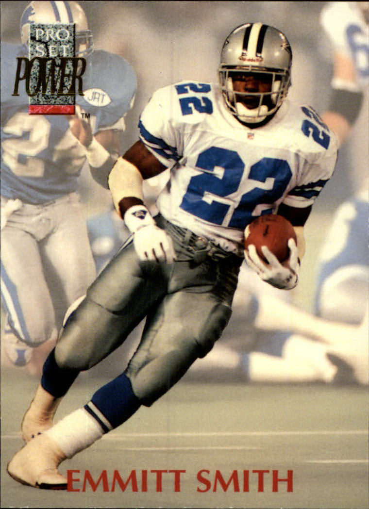 1992 Power #22 Emmitt Smith