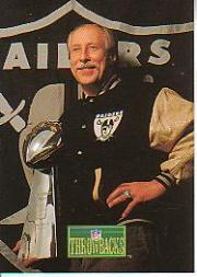 1992 Pro Line Portraits #385 Fred Biletnikoff RET