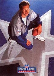 1992 Pro Line Portraits Autographs #105 Jay Novacek